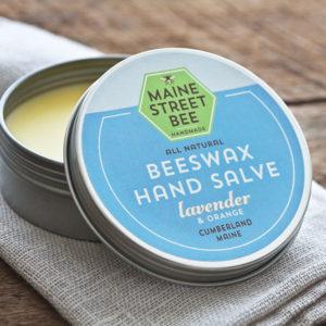 Lavender and Orange Beeswax Hand & Body Salve