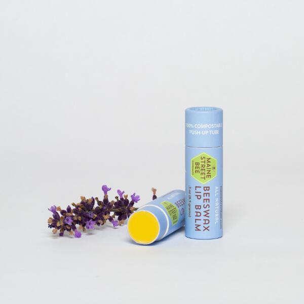 Lavender & Orange Beeswax Lip Balm