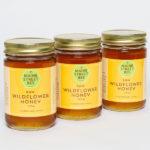 Locally Sourced Raw, Maine Wildflower Honey 12oz