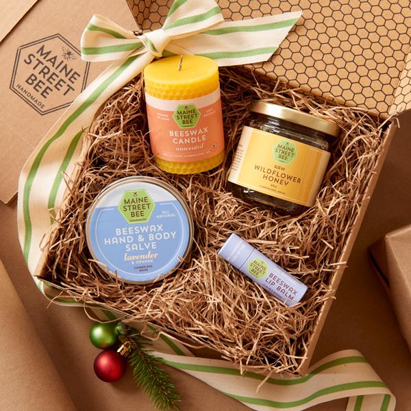Maine Street Bee Gift Box Lavender
