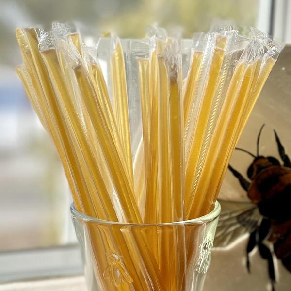 Maine Wildflower Honey Straws
