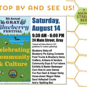 Gray Blueberry Festival