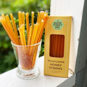 Honey Raw Wildflower Honey Straws – Single Straws or Box of a Dozen